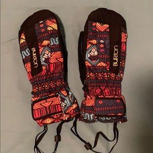 Burton ski snowboard mittens